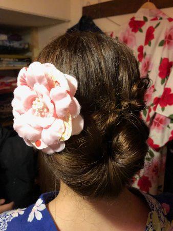 浴衣の髪型